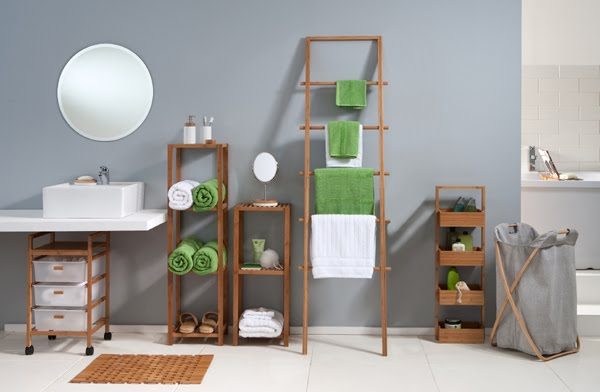 Bamboo Bathroom Range From Howards Storage World.