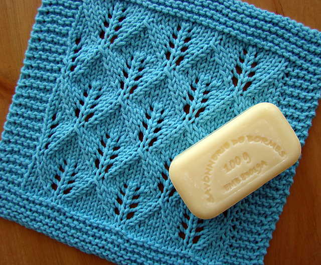 Knitting Pattern Leaf Lace : LYS Classes & FREE Workshops: Tuesday, April 16: Lace Basics Free Knittin...