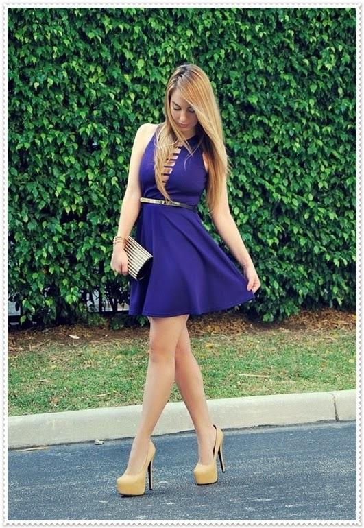 sexy kurz Kleid