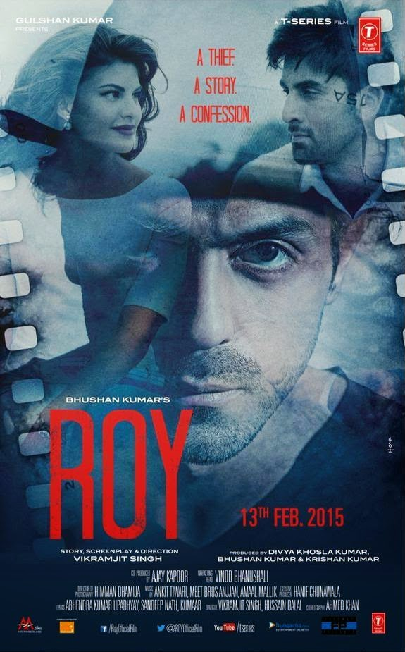 Second Roy Poster: Ranbir, Jaqueline and Arjun Rampal in a still