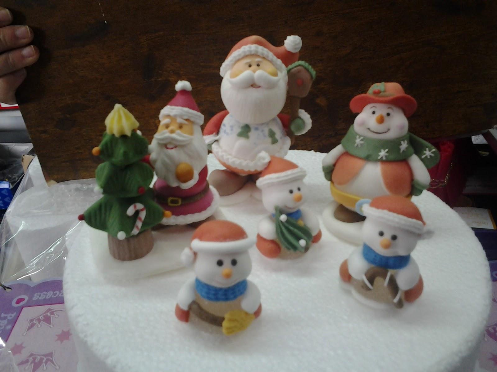 Sciarra shop decorazioni natalizie per torte - Decorazioni torte natalizie ...