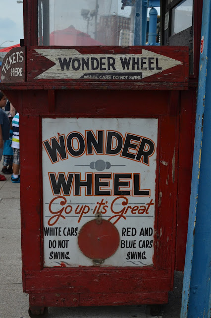Coney Island, Luna Park, USA, Victorian, amusement park, the warriors, Brooklyn, New York, NYC, off the beaten track, things to do, alternative, fun, beach, urban beach, little Russia, cyclones, mets, old fashioned, vintage, font, painted sign, classic, 1920, swinging carts, Brighton Beach, Riegelmann Boardwalk, handball, American, America, usa,
