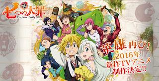 Nanatsu no Taizai Anime 2016