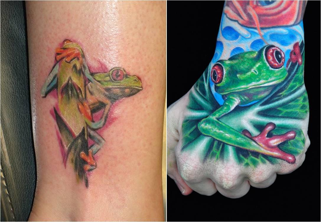Frog Tattoo A03jpg