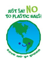 please use shopping bags, save the world!