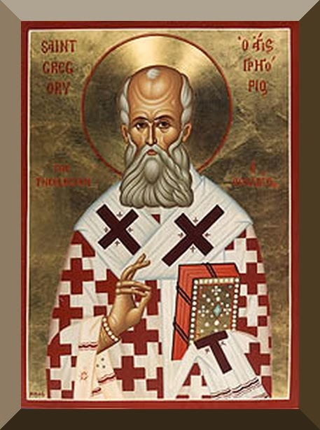 Saint Gregory Nazianzen