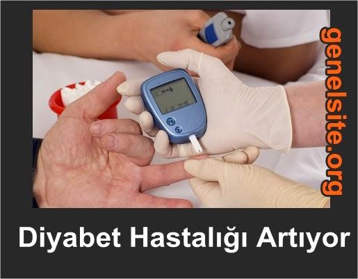 Ülkemizde diyabet hastalığı artıyor