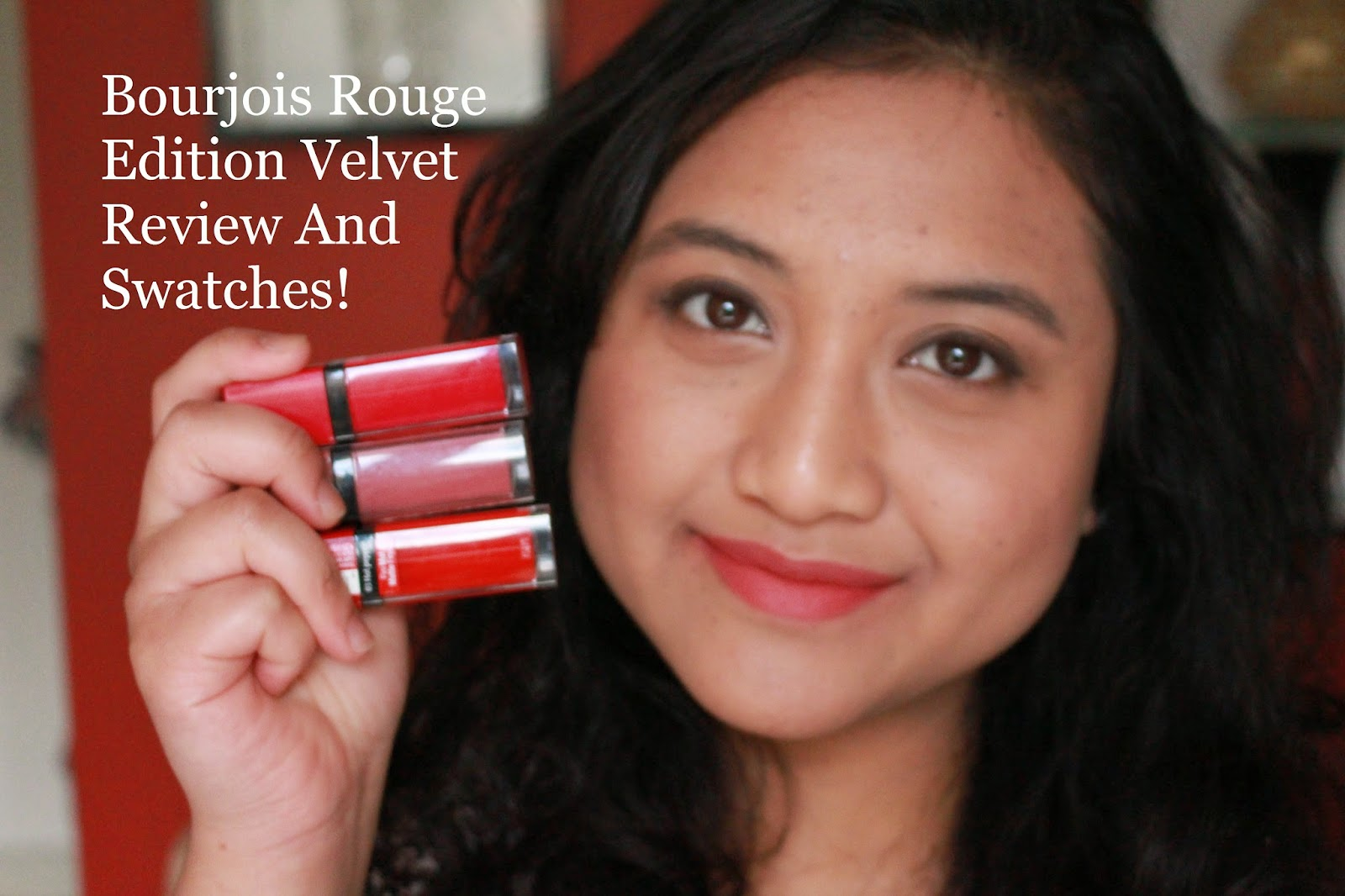 Bourjois Rouge Edition Velvet - Review and Swatches!