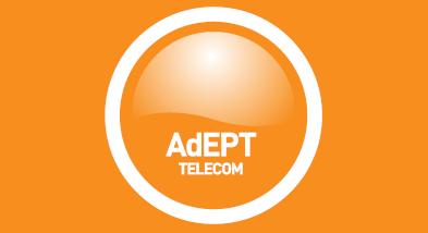 Adept Telecom Logo