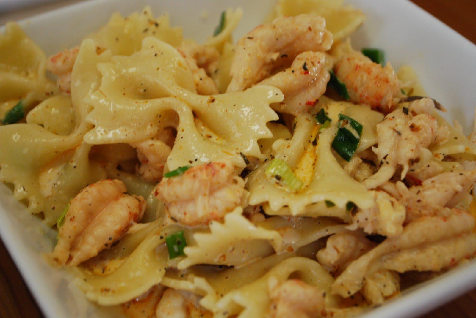 Simply Mangerchine: Crawfish Roban Pasta