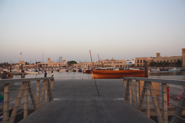 Jumeirah fish harbour and market