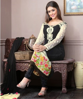 Actress Sonali Bendre Wear Anarkali Suits
