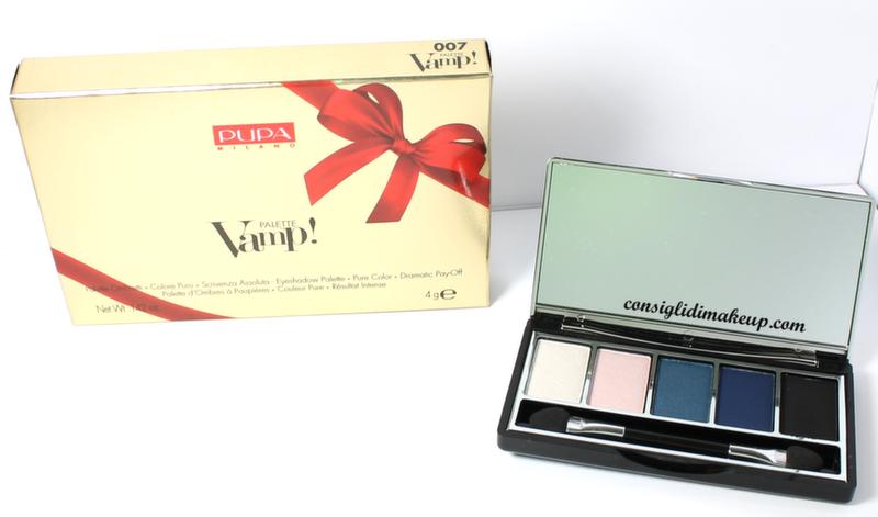 recensione vamp gold edition natale 2014 palette