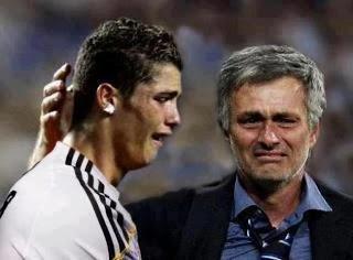 cristiano ronaldo weint nach dem champions league halbfinale real madrid gegen fc bayern