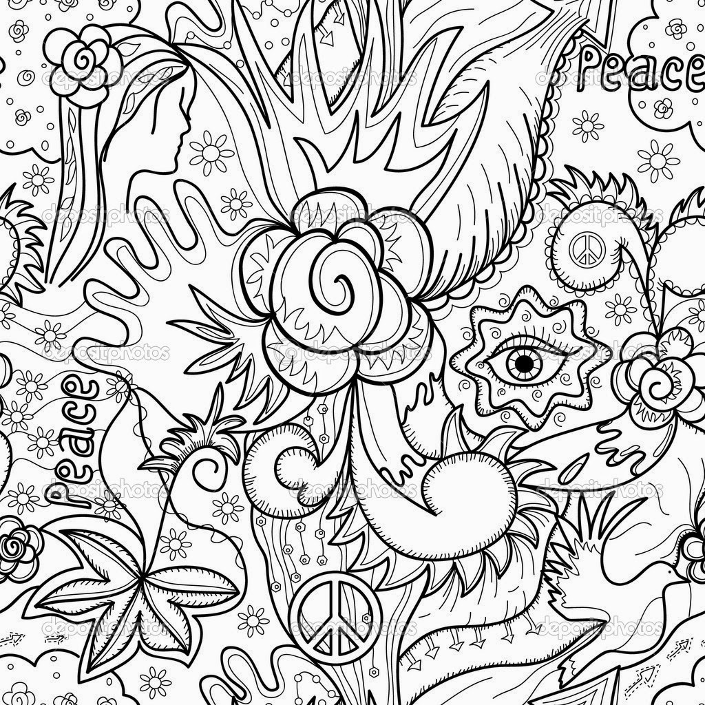 Coloring pages abstract coloring pages free and printable for Free printable abstract coloring pages