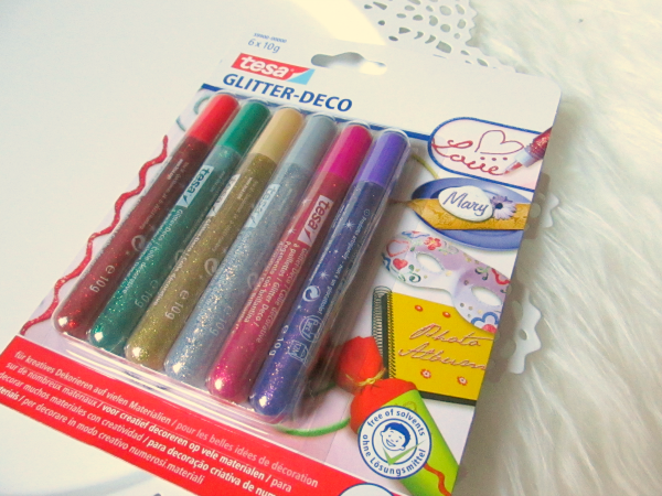 tesa Glitter Deco Stifte - 6 Stück