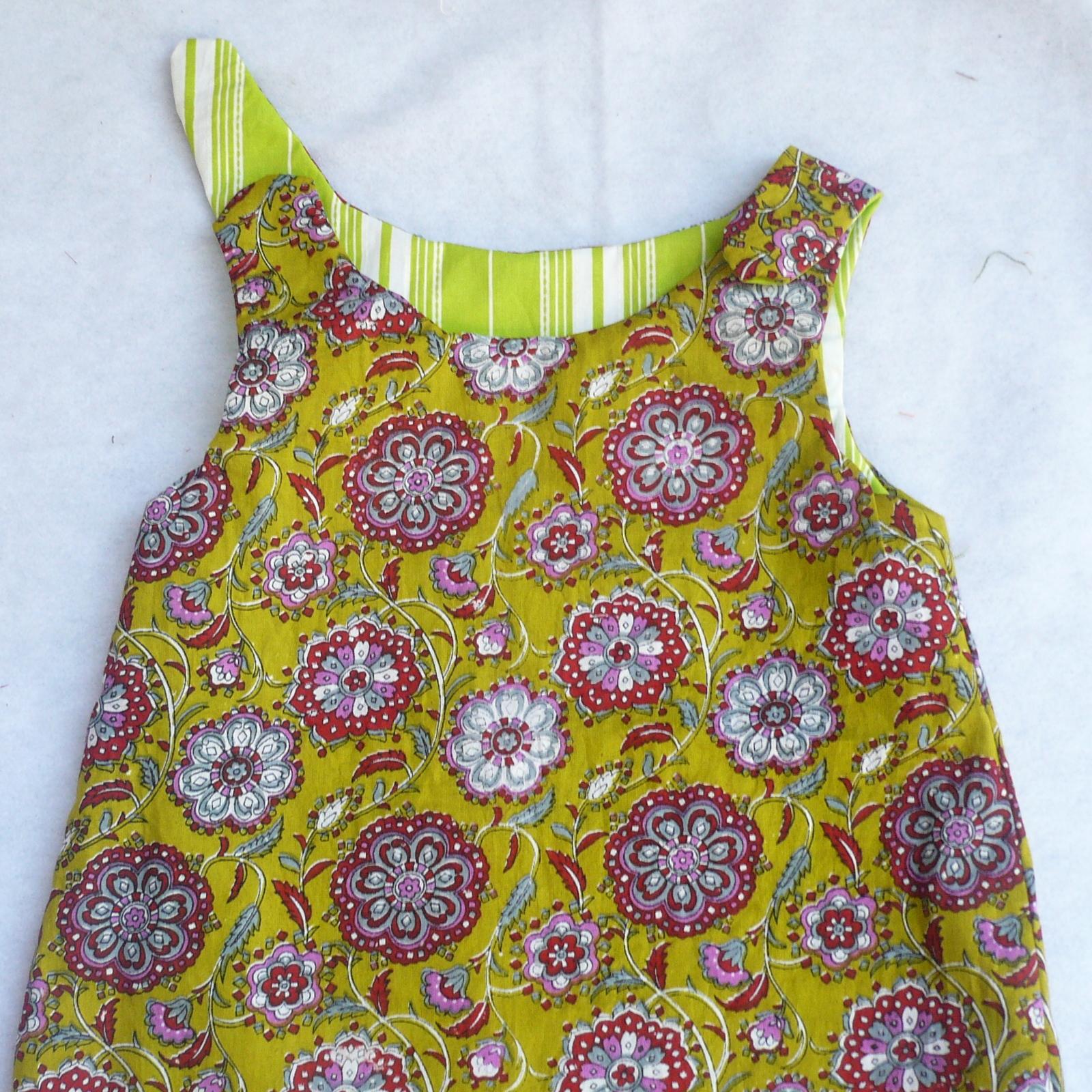 Sew easy tutorial reversible zen dress pattern turning out a reversible dress jeuxipadfo Choice Image