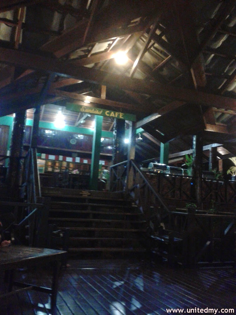 Tabin Wildlife Reserve Restaurant during the night time