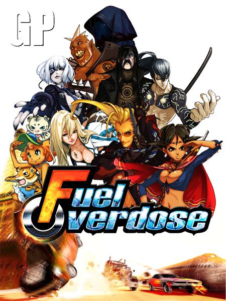 Una brutal portada de Fuel Overdose