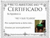 Certificado Reto Nº 43