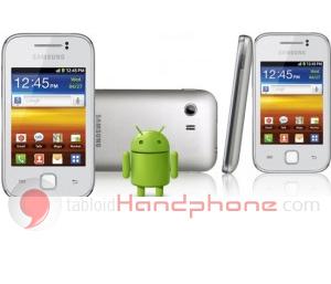 Samsung Galaxy Y 55360 White : Android Samsung Termurah www.tabloidhandphone.com