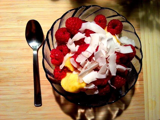 Przepis na domowe lody z bananów i mango