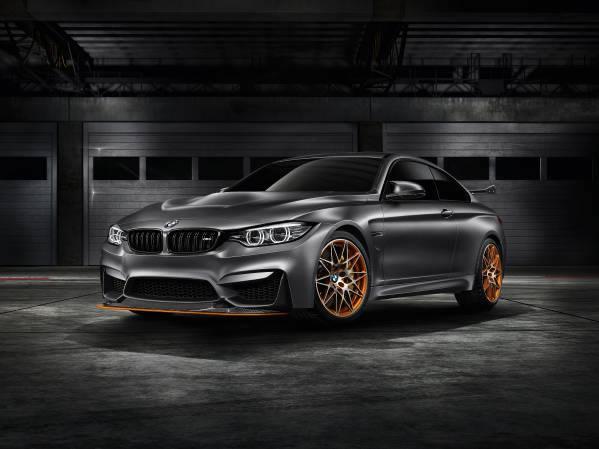 「BMW Concept M4 GTS」フロント画像その2