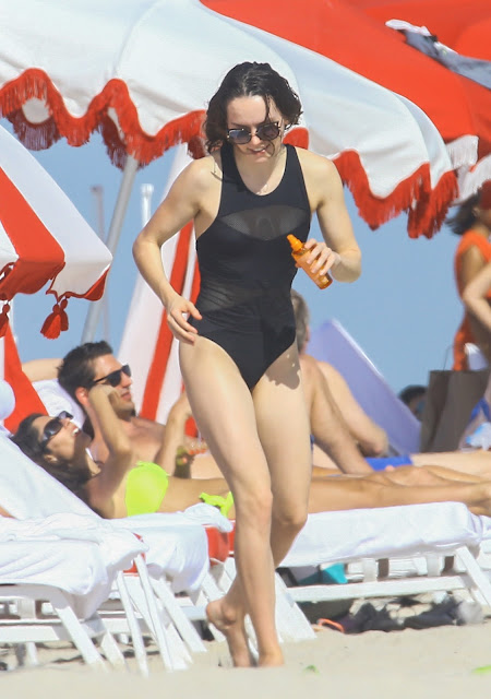 Actress, @ Daisy Ridley - Swimsuit Miami Beach