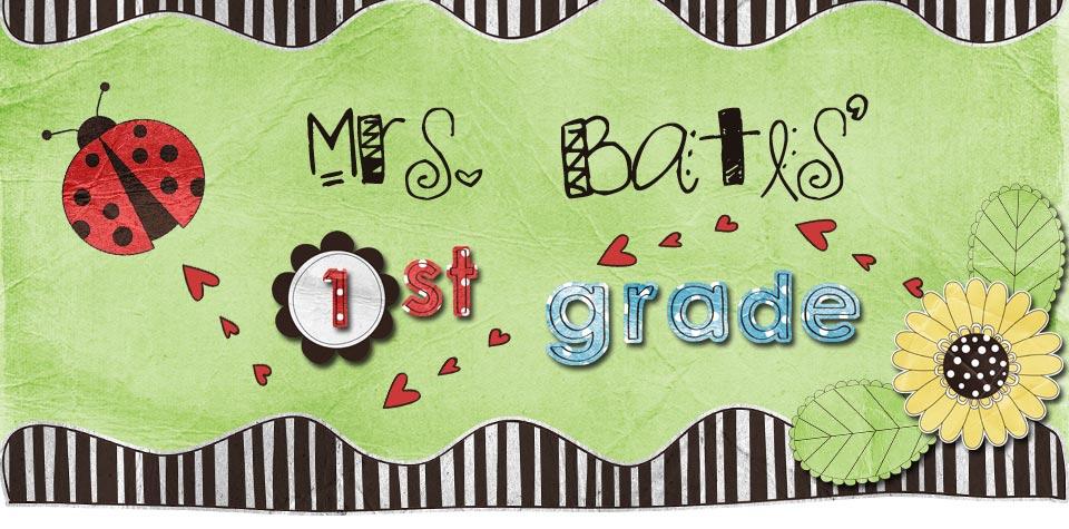 Mrs. Bates' 1st Grade