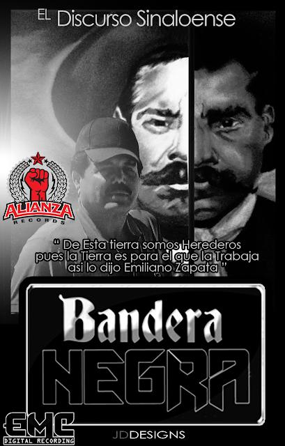 Grupo Bandera Negra - El Discurso Sinaloense - Miguel Medina Corridos 2013