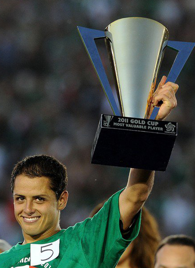 Chicharito Mexico MVP 2011 Gol Cup