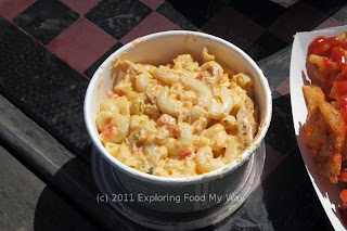 Buffalo Macaroni and Cheese with Chicken