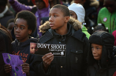Children March Against Chicago Murders