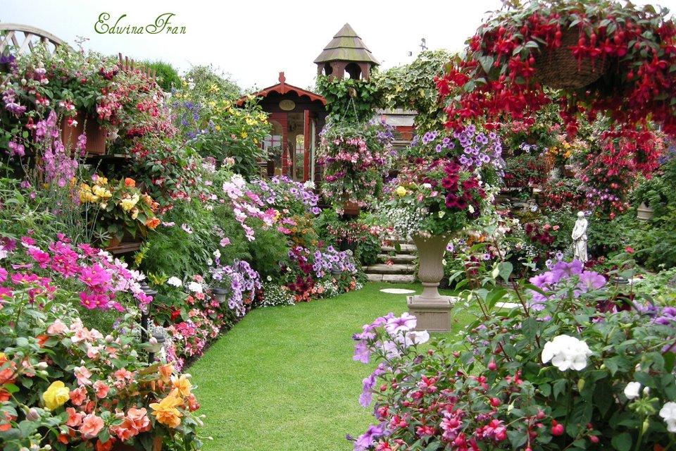 Mon jardin fleuri de bien beaux jardins for Beautiful flower garden designs