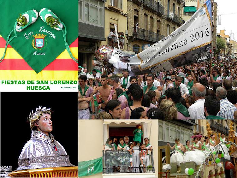 FIESTAS DE SAN LORENZO - HUESCA