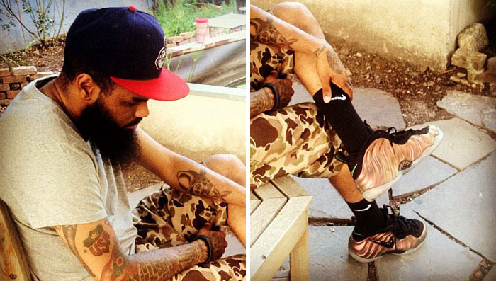 Kicks x clothes x photos x fly sh t celeb sneaker watch stalley in nike for Celebrity sneaker watch sole collector