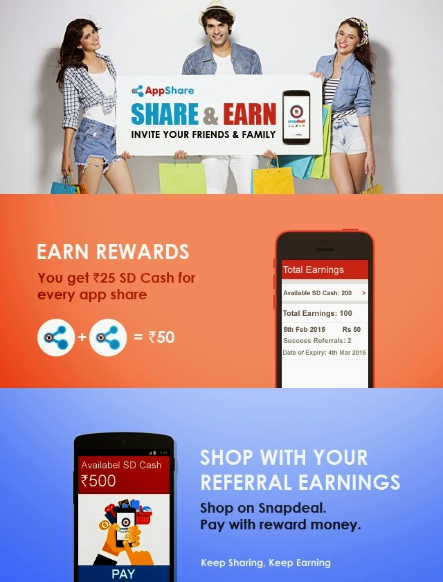 Download-Snapdeal-App-Get-Instant-Rs.50