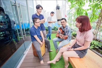 Những văn phòng cá tính hàng đầu Việt Nam năm 2015