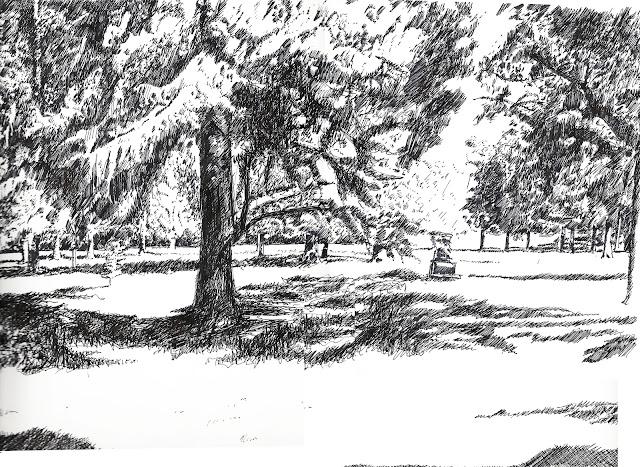 parc Mussonville encre