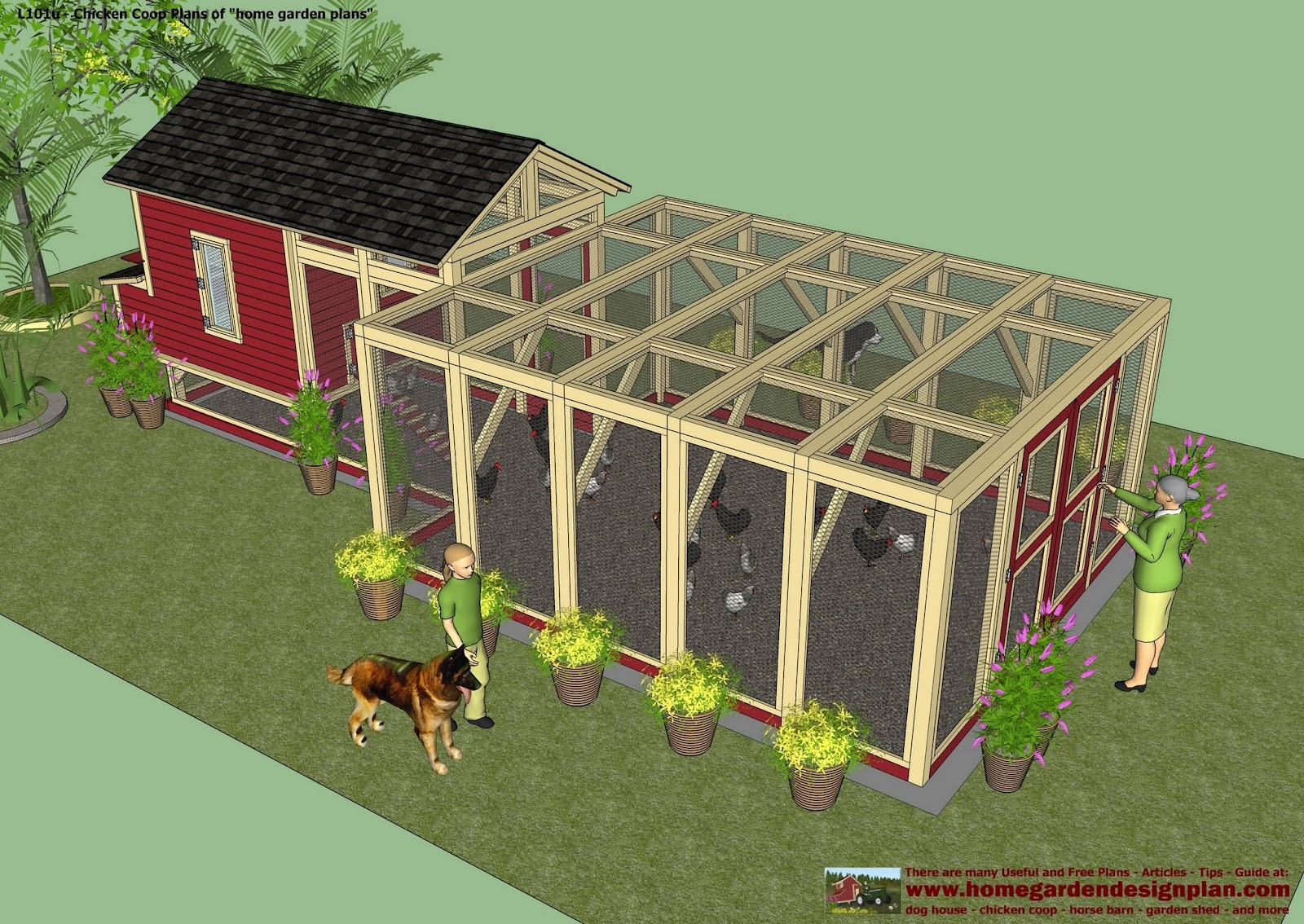 Home garden plans chicken coops for Design plan build