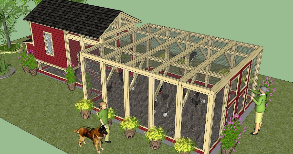 12 chicken coop design diy build small chicken coop for Plans for a chicken coop for 12 chickens