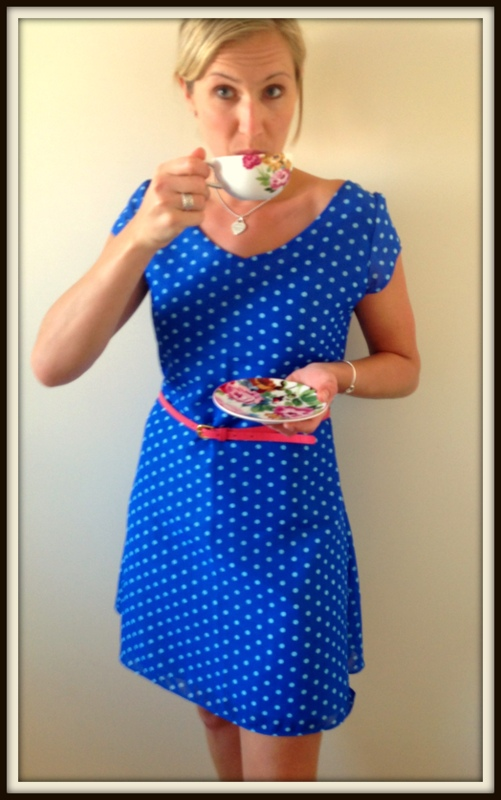 An Adventure in Sewing: The Vintage Tea Dress