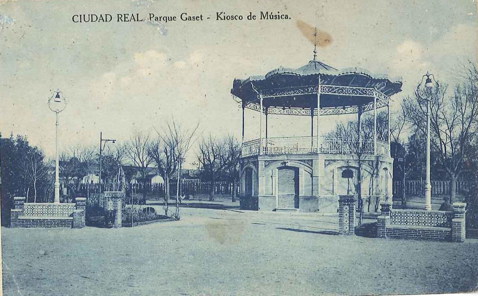 El sayon historia del parque de gasset de ciudad real for Jardin de la cerveza 2015 14 de agosto