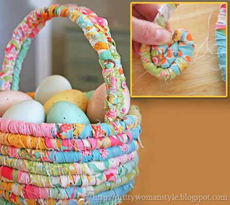 Кошничка за яйца от плат
