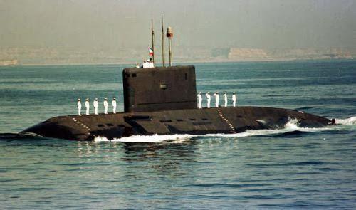 Kapal selam kelas Kilo Project 877EKM