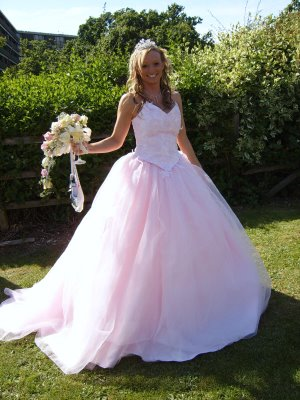 White and Pink Wedding dresses in Mosaic View   Wedding Dresses In ...