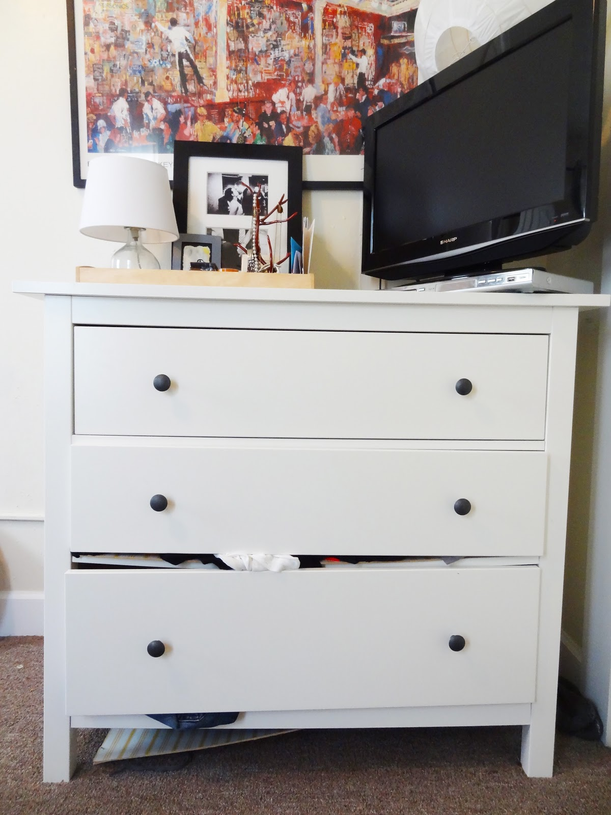 that dang hemnes dresser revamp homegoods. Black Bedroom Furniture Sets. Home Design Ideas
