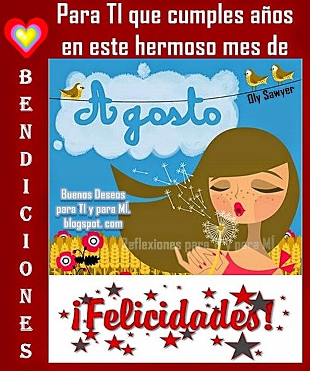 BENDICIONES y FELICIDADES !!!