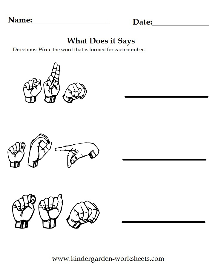 Sign Language college teaching subjects