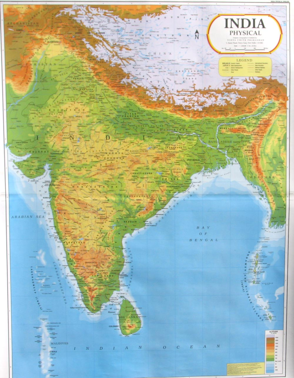 India Map Wallposters